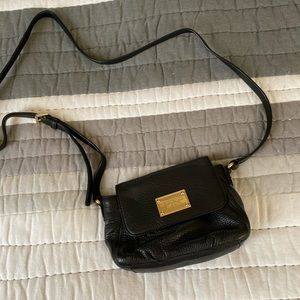 🔥Michael Kors🔥 Black Leather Crossbody